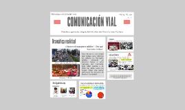 COMUNICACIÓN VIAL