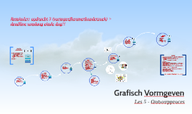 GV - Les 5 - ontwerpproces