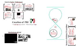 Creación del PRI