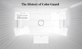 The History of Colorguard