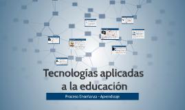 Tecnologías aplicadas en la educación