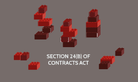 SECTION 24(B) OF CONTRACTS ACT