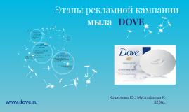 Разработка основных этапов рекламной кампании мыла   DOVE