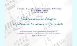 Tertulias musicales dialógicas