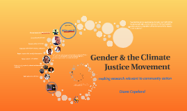 Gender & the Climate Justice Movement