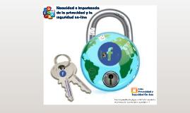 Necesidad e importancia de la privacidad y la seguridad on-line