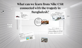 How factory collapse in Bangladesh infected Nike CSR?