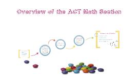ACT Math Intro