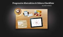 Progressive Abstraktion und Osborn Checkliste