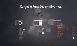 Cargos e Funções em Eventos