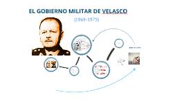 GOBIERNO DE VELASCO