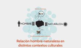 Copy of Relacion hombre-naturaleza en distintos contextos culturales