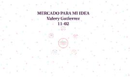 MERCADO PARA MI IDEA