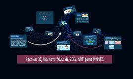 Copy of Sección 35, Decreto 3022 de 2013, NIIF para PYMES