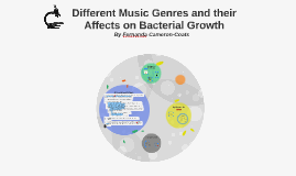 how does music affect bacterial growth