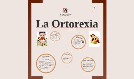 La Ortorexia
