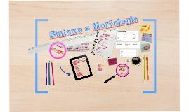 Sintaxe e Morfologia