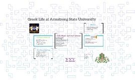 Greek Life at Armstrong State University