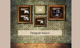 Designer italiani