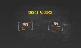 DIRECT ADDRESS (AP3)