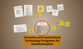 Assistive and Instructional Technology Programs for Language