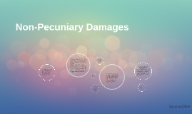Non-Pecuniary Damages