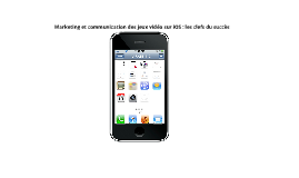 Copy of Marketing et communication des jeux vidéo sur iOS : les clefs du succès