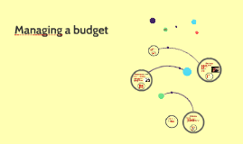 Managing a budget