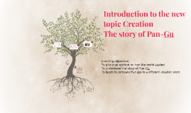 Introduction to the new topic Creation