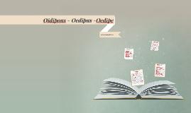 Oidipous - Oedipe