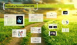 Actitud y Personalidad DPE
