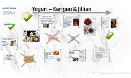 Yogurt ~ Karigan & Jillian