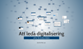 Att leda digitalisering
