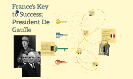 France's Key to Success; President deGaulle