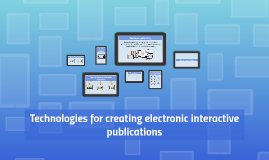 Technologies for creating electronic interactive publication