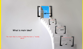 Copy of What is Main Idea?