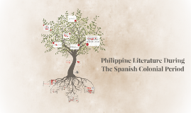 Copy of Philippine Literature During The Spanish Colonial Period