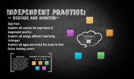 Independent Practice:
