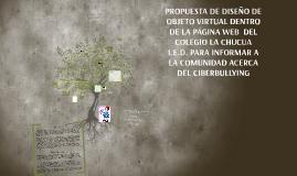 PROPUESTA DE DISEÑO DE OBJETO VIRTUAL DENTRO DE LA PÁGINA WE