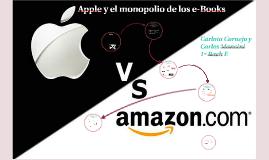 Apple y el monopolio de los e-Books
