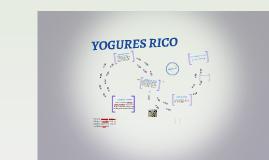Innovación: YOGURES RICO
