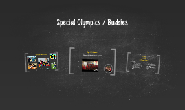 Special Olympics / Buddies