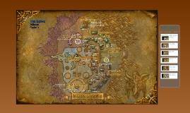 World of Warcraft - carte Darnassus