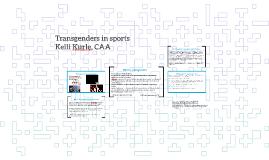 Transgenders in sports