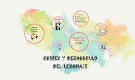 Origen y desarrollo del lenguaje