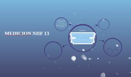 MEDICION NIIF 13