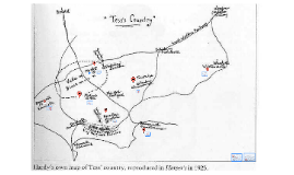 Tess of the D'Urbervilles Map