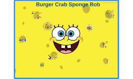 Crab Burger Sponge Bob