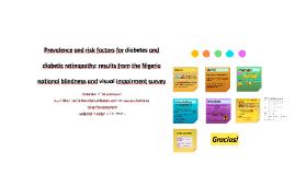 La prevalencia ajustada por edad de diabetes en Nigeria fue