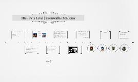 History A Level | Cornwallis Academy